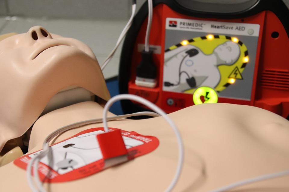 "Immagine BLS-D - Basic Life Support & Defibrillation - ""laici"""